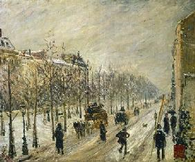 The Boulevards under Snow