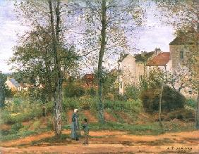Countryside at Louveciennes I