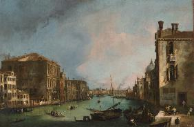 Canaletto : The Grand Canal in Venice