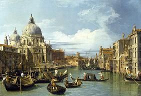 Canaletto : The Entrance to the Grand ...