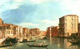 The Canal grandee between Palazzo Bembo and Palazzo Vendramin