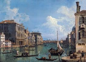 The Canal grandee at Campo of San Vio according to the Chiesa Santa Maria Della salute