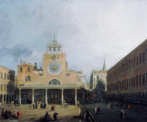 The place of San Giacomo di Rialto in Venice