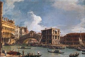 The Rialto Bridge, Venice, from the North