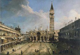 The Piazza San Marco in Venice