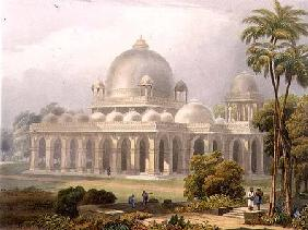 The Roza at Mehmoodabad in Guzerat, or the Tomb of Vizier of Sultan Mehmood, from Volume II of 'Scen
