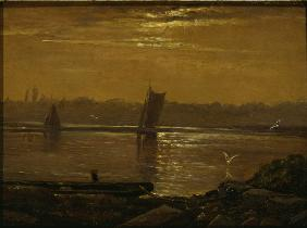 Moonlight on the Elbe