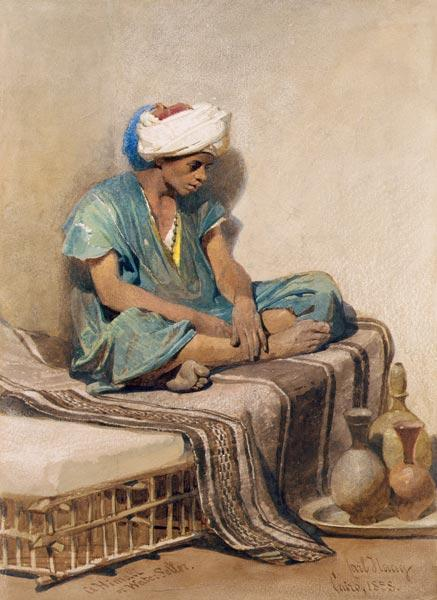 A Himali or water seller