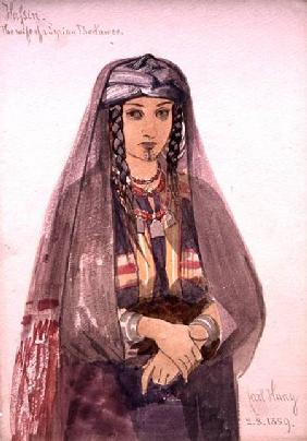 Hassin, the Wife of a Syrian Bedawee