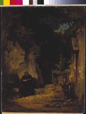 Hermit with girls