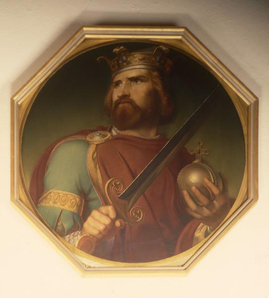 Louis The German Carl Trost C 1840 Carl Trost As Art