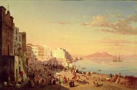 Naples, c.1830 (oil on canvas)