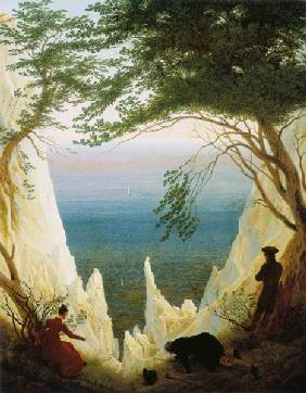 Chalk cliff on reprimands