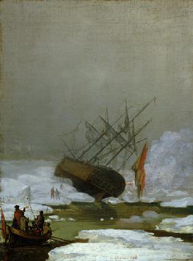 Ship in the Polar Sea