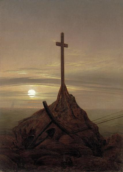 The cross at the Baltic Sea