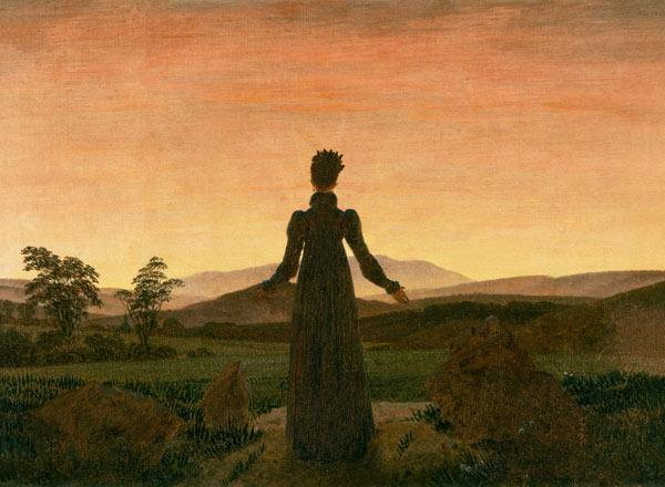 Friedrich, Caspar David : Woman in the morning sun