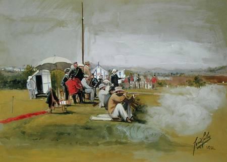 Firing Range Bisley Camp Cecil Cutler As Art Print Or
