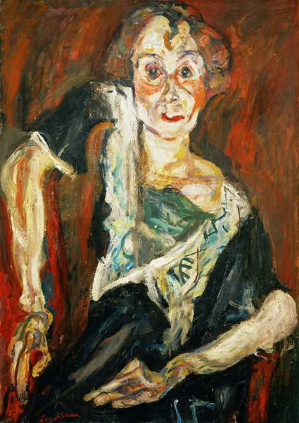 The Old Actress / painting