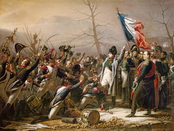 The return Napoleons of the island of Elba in February 1815.