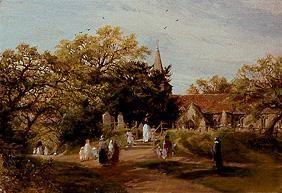 Going to church in New Forest (Brockenhurst)