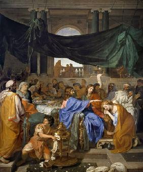 Ch.Le Brun / Banquet at Hs.of Pharisee