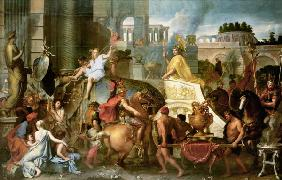Le Brun, Charles : Alexander the Great makes ...