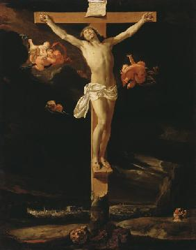 Christ at the cross.