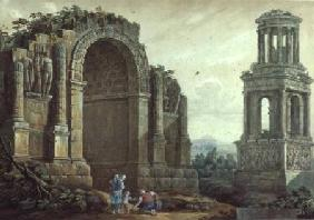 The Triumphal Arch at St.Remy