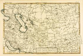 Persia, Georgia and Independant Tartary, from 'Atlas de Toutes les Parties Connues du Globe Terrestr