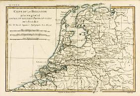 Holland Including the Seven United Provinces of the Low Countries, from 'Atlas de Toutes les Parties