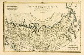 Map of the Russian Empire, in Europe and Asia, from 'Atlas de Toutes les Parties Connues du Globe Te