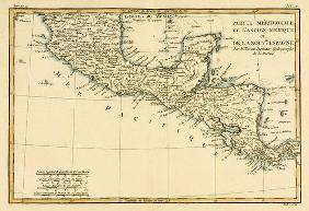 Southern Mexico, from 'Atlas de Toutes les Parties Connues du Globe Terrestre' by Guillaume Raynal (