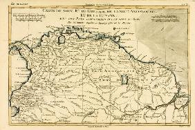 The New Kingdoms of Grenada, New Andalucia and Guyana, from 'Atlas de Toutes les Parties Connues du