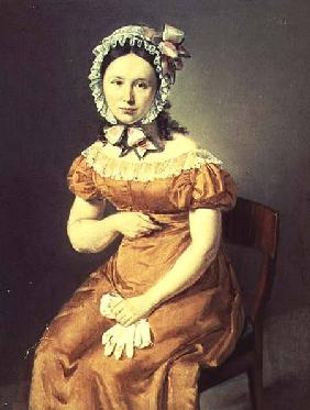 The artist's wife Catharine