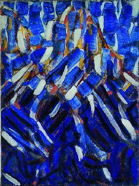 Rohlfs, Christian : Abstraction (the Blue Moun...