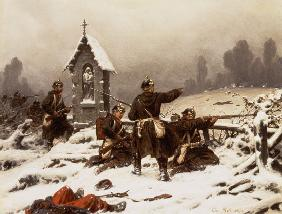 Preussische infantry in the snow