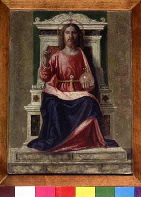 Christ Enthroned (Saviour of the World)
