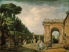 The Gardens of the Villa Ludovisi, Rome