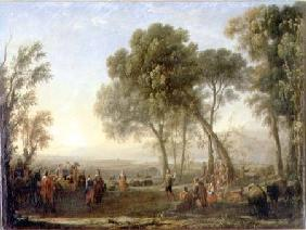 Landscape with a Country Dance