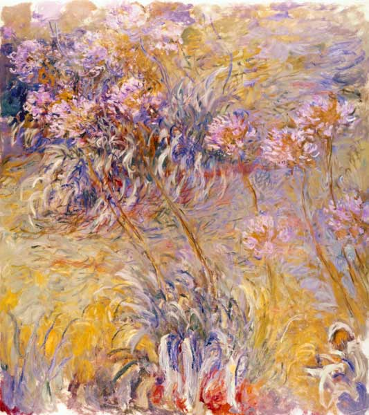 impressionism monet flowers - photo #11