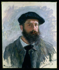 Claude MONET- self-portrait