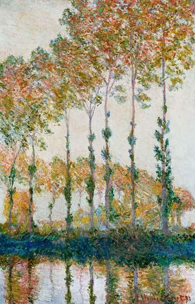 Poplars on the Banks of the Epte, Autumn