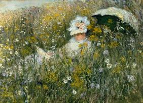 Monet, Claude : In the flower meadow (Dan ...