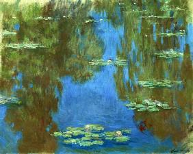 Water Lilies in Giverny 1903