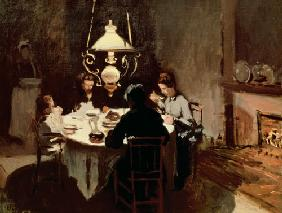 Dinner at Sisleys. 1869