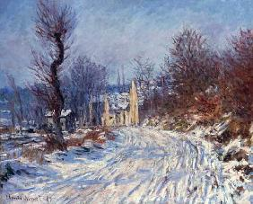 The Road to Giverny, Winter