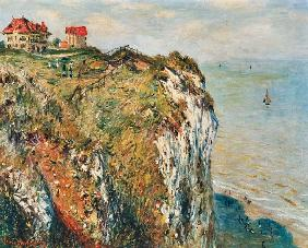 Monet, Claude : Cliff at Dieppe