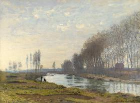 The Petit Bras of the Seine at Argenteuil