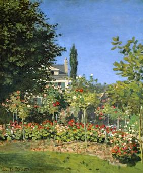 C.Monet / Garden in bloom