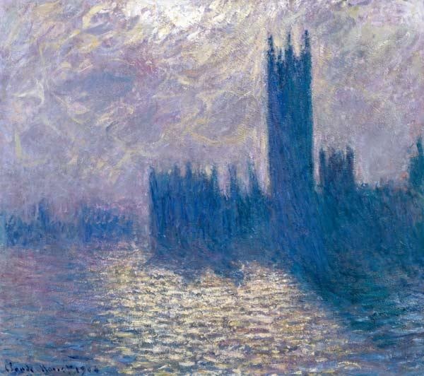 The Houses of Parliament, Stormy Sky